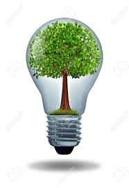lightbulb green environmental